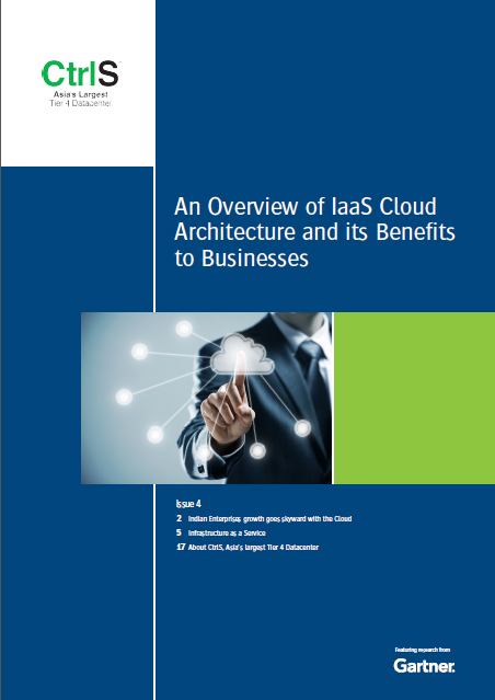 Newsletter on IAAS featuring research from gartner